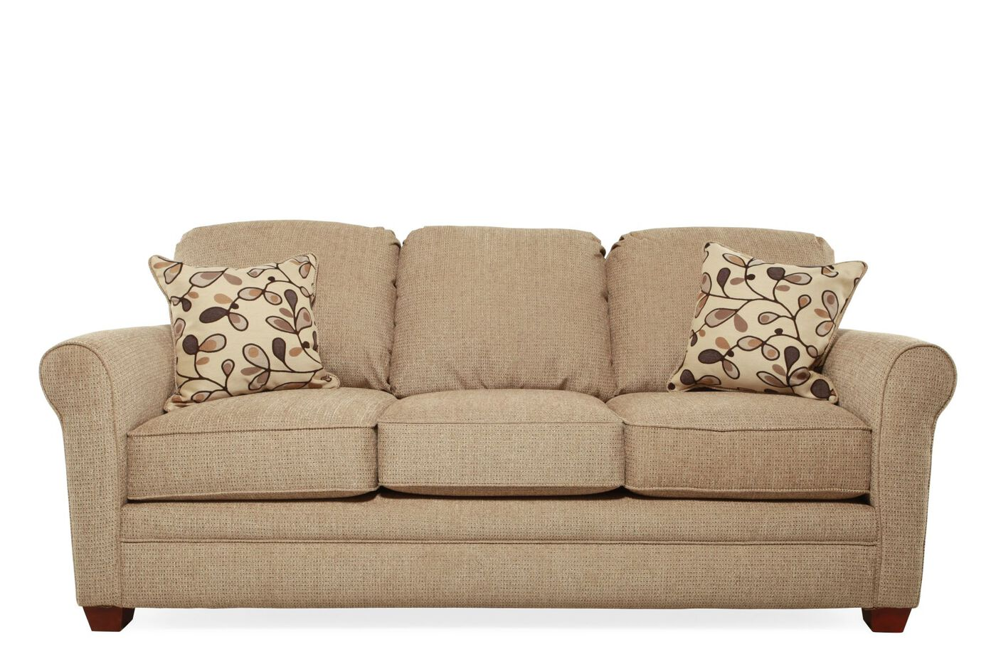 I rest traditional 84 sleeper sofa in brown mathis for 84 inch sofa