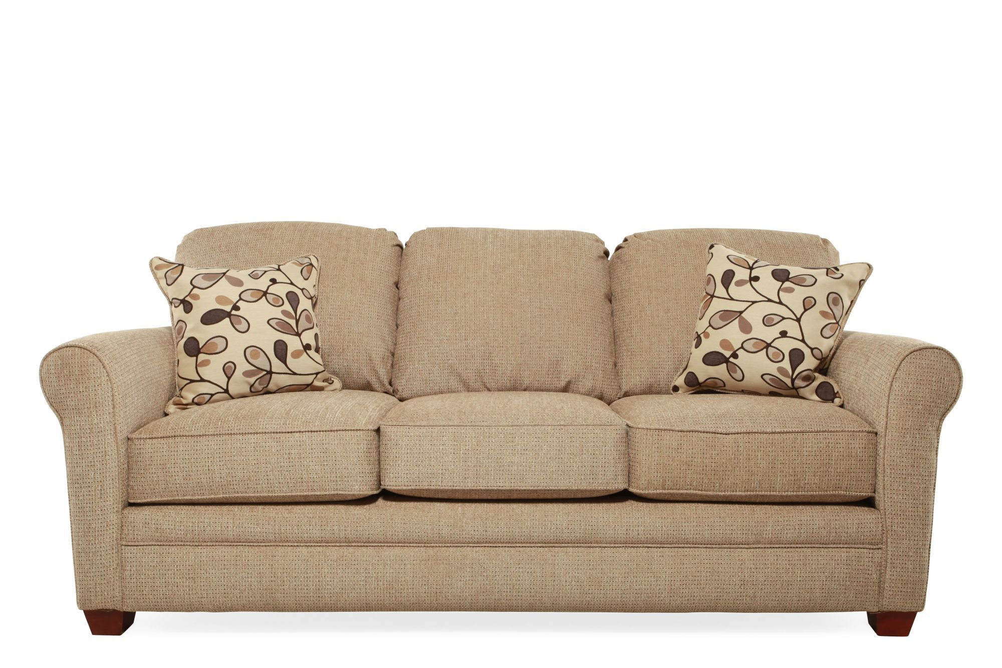 Images I Rest Traditional 84u0026quot; Sleeper Sofa In Brown I Rest Traditional  84u0026quot; Sleeper Sofa In Brown