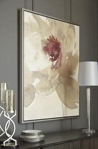 Ashley Odam Taupe/Gray/Purple/White Wall Art
