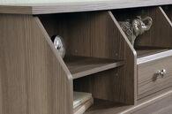 MB Home Malibu Diamond Ash Twin Bookcase Headboard