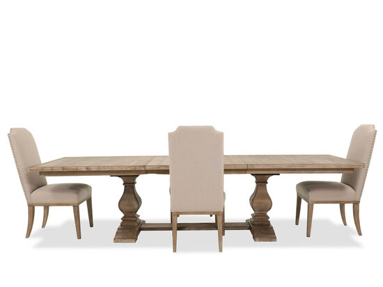 Five-Piece Casual 84'' to 120'' Dining Set in Cypress