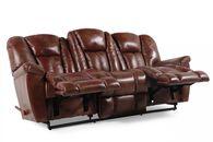 La-Z-Boy Maverick Mahogany Reclining Sofa