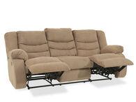 Ashley Tulen Mocha Reclining Sofa