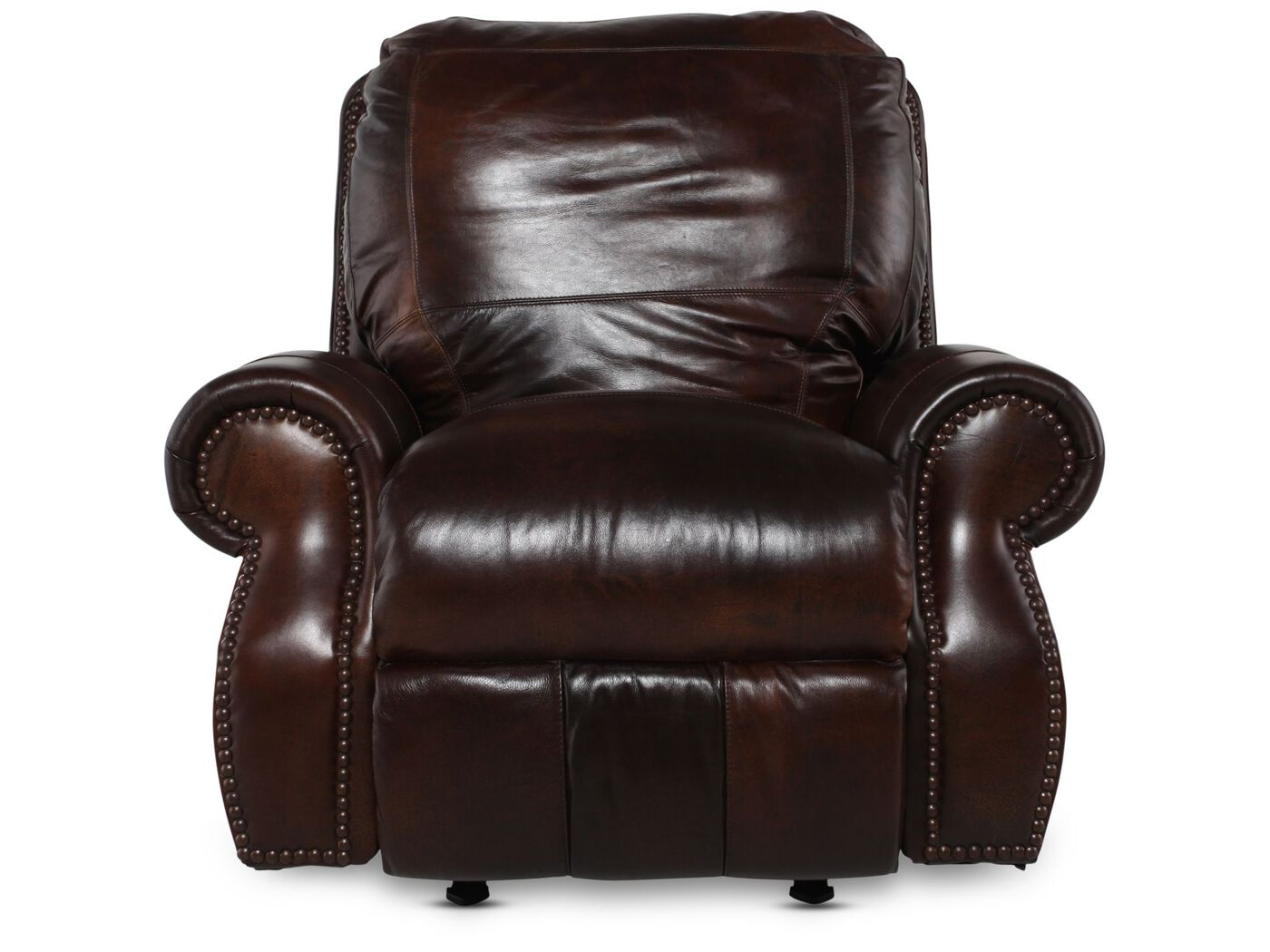 Living Room Furniture Usa usa leather cowboy rocker recliner | mathis brothers furniture