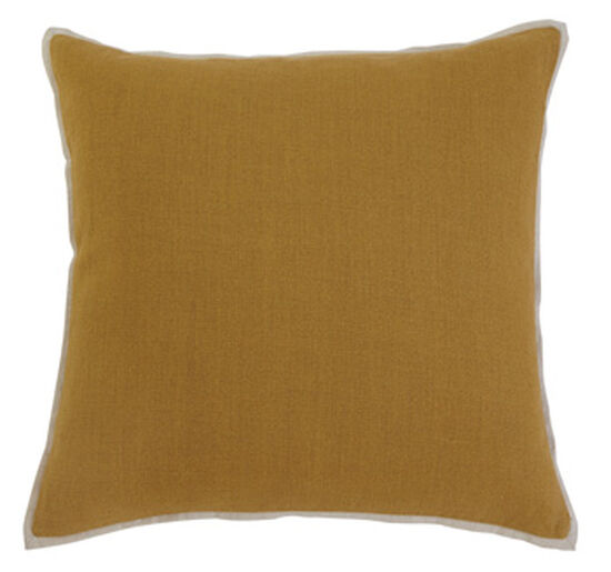40 Square Pillow Cover In Mustard Mathis Brothers Furniture Unique 22 Square Pillow Covers