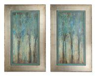 Uttermost Whispering Wind Framed Art, S/2