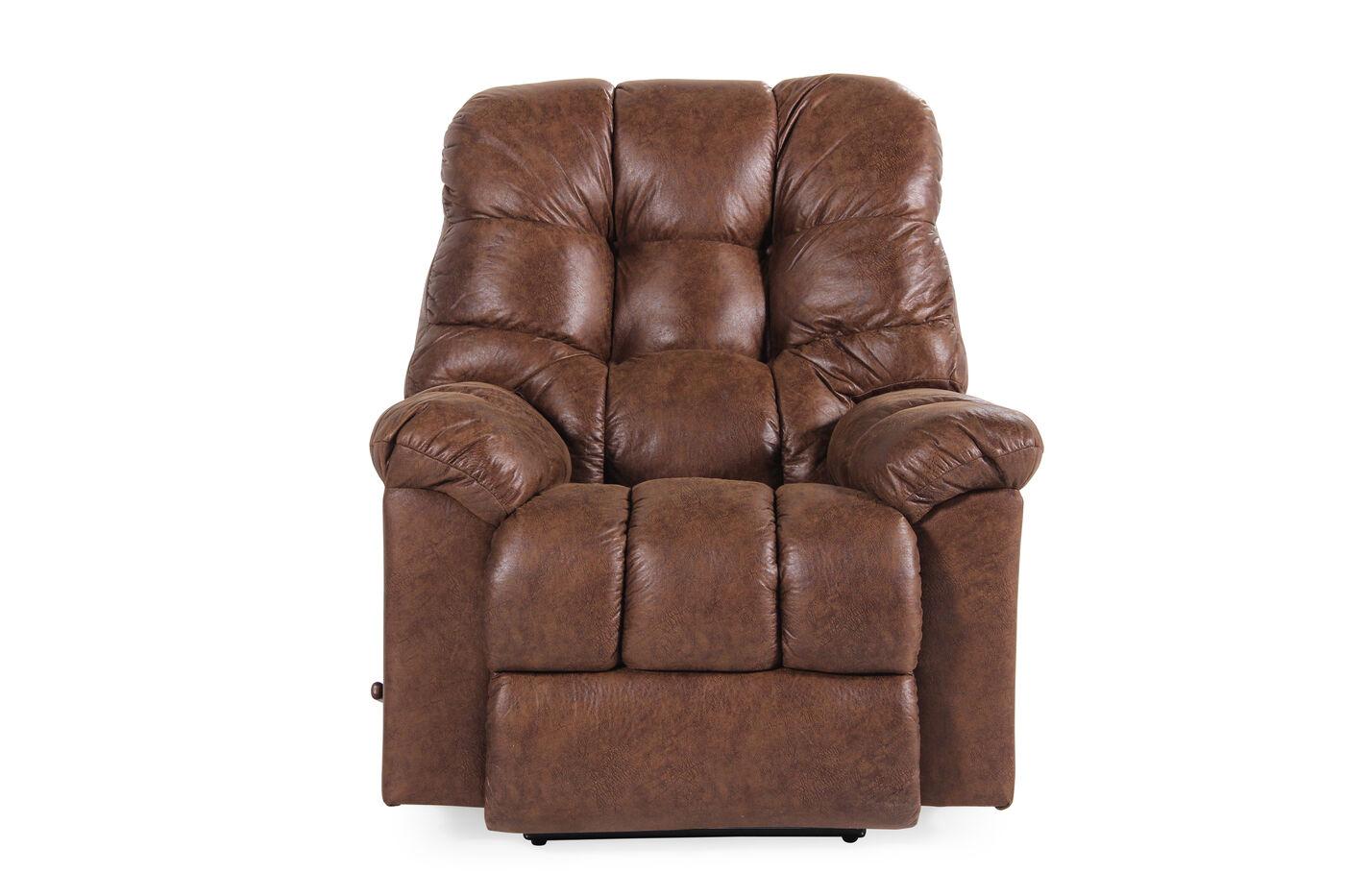 Contemporary 52 Quot Wall Recliner In Chestnut Brown Mathis