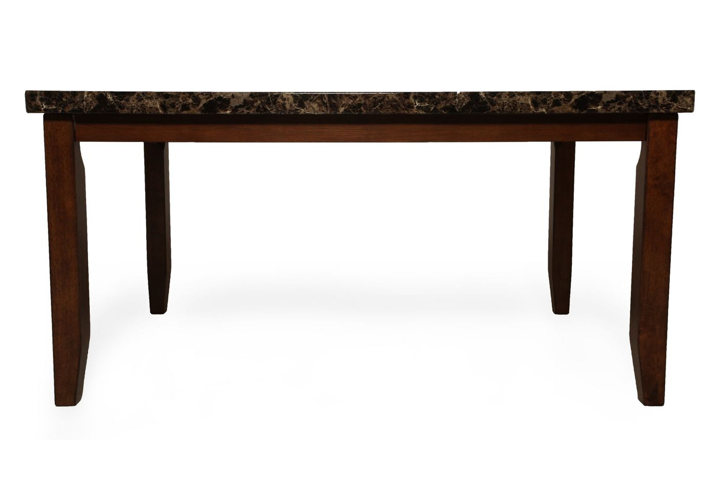 Contemporary 60quot Rectangular Dining Table in Brown  : ASH D32804725 from www.mathisbrothers.com size 1400 x 933 jpeg 49kB