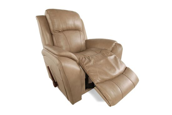 "Contemporary 40"" Rocker Recliner in Khaki"