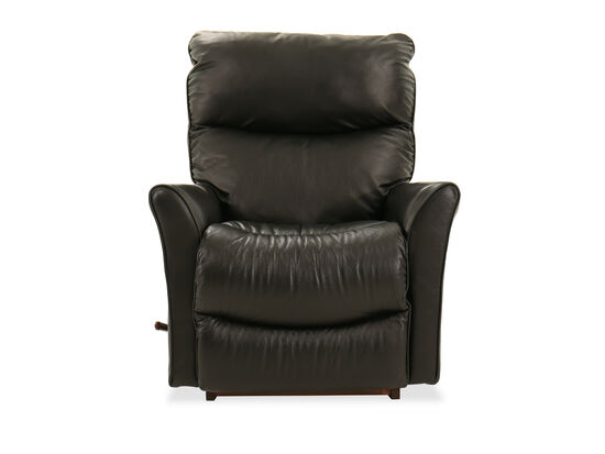 "Contemporary 34"" Rocker Recliner in Carbon Black"