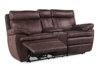 Boulevard Brown Power Loveseat with Console