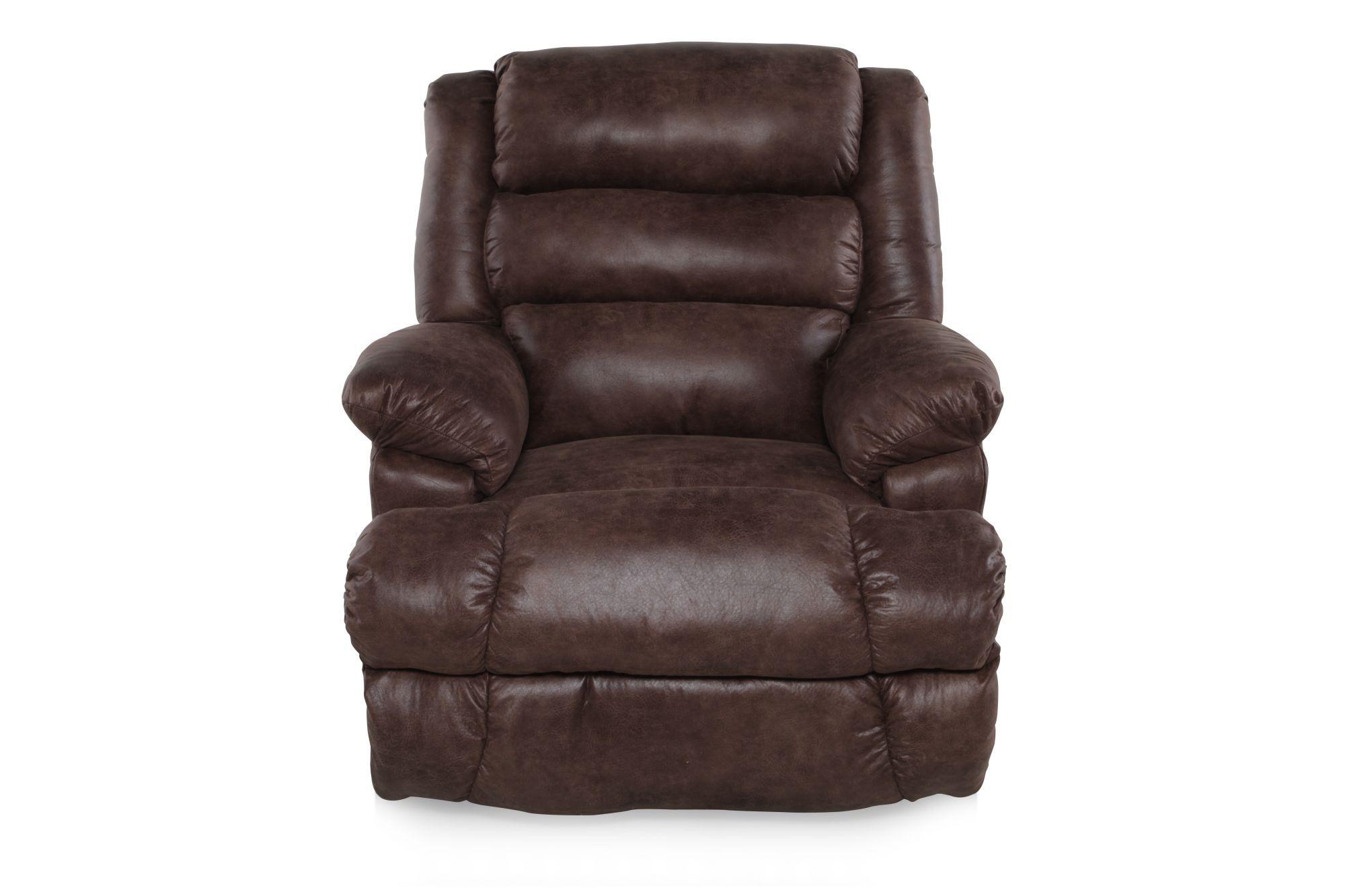 lane knox mocha rocker recliner