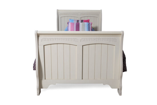 Ashley Sleigh Bed with Rails