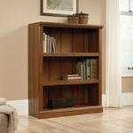 Transitional Adjustable Shelf Bookcase in Washington Cherry