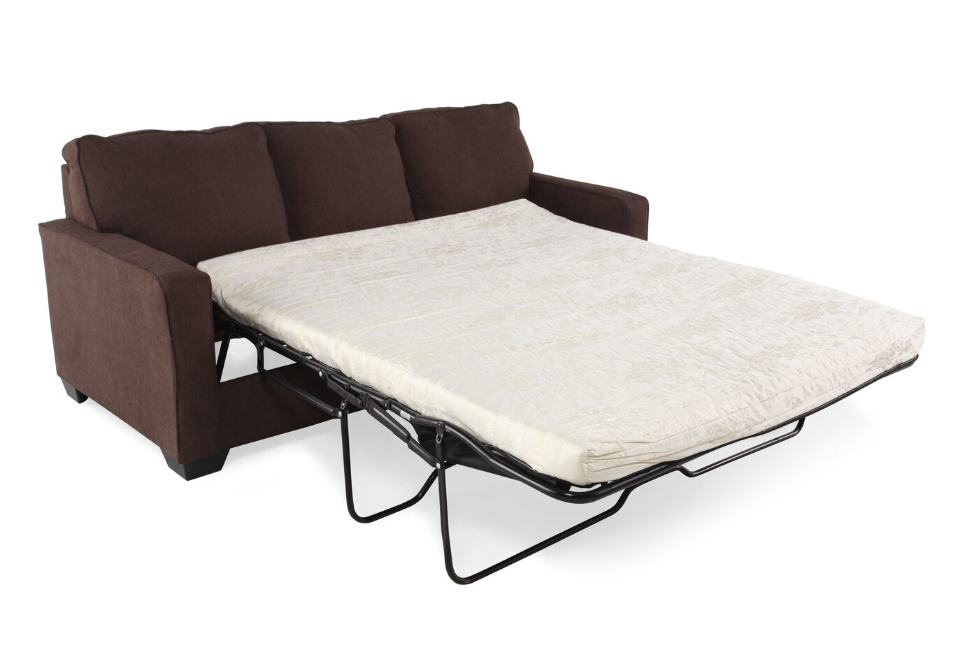 Contemporary 82 Queen Sleeper Sofa in Espresso