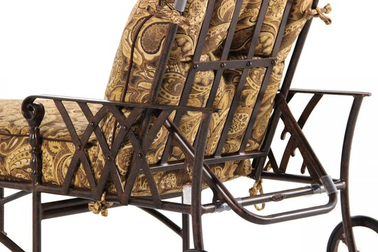 Paisley Aluminum Chaise Lounge