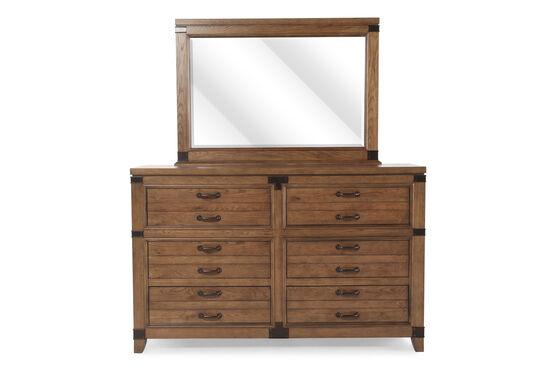 Legacy Metalworks Woodgate Dresser and Mirror