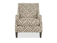 """Geometric Patterned Contemporary 30"""" Accent Chair"""