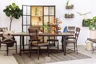 Hillsdale Jennings Dark Brown Rectangular Dining Table
