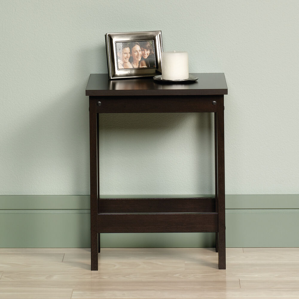 Square Contemporary Side Table In Cinnamon Cherry Mathis Brothers Furniture