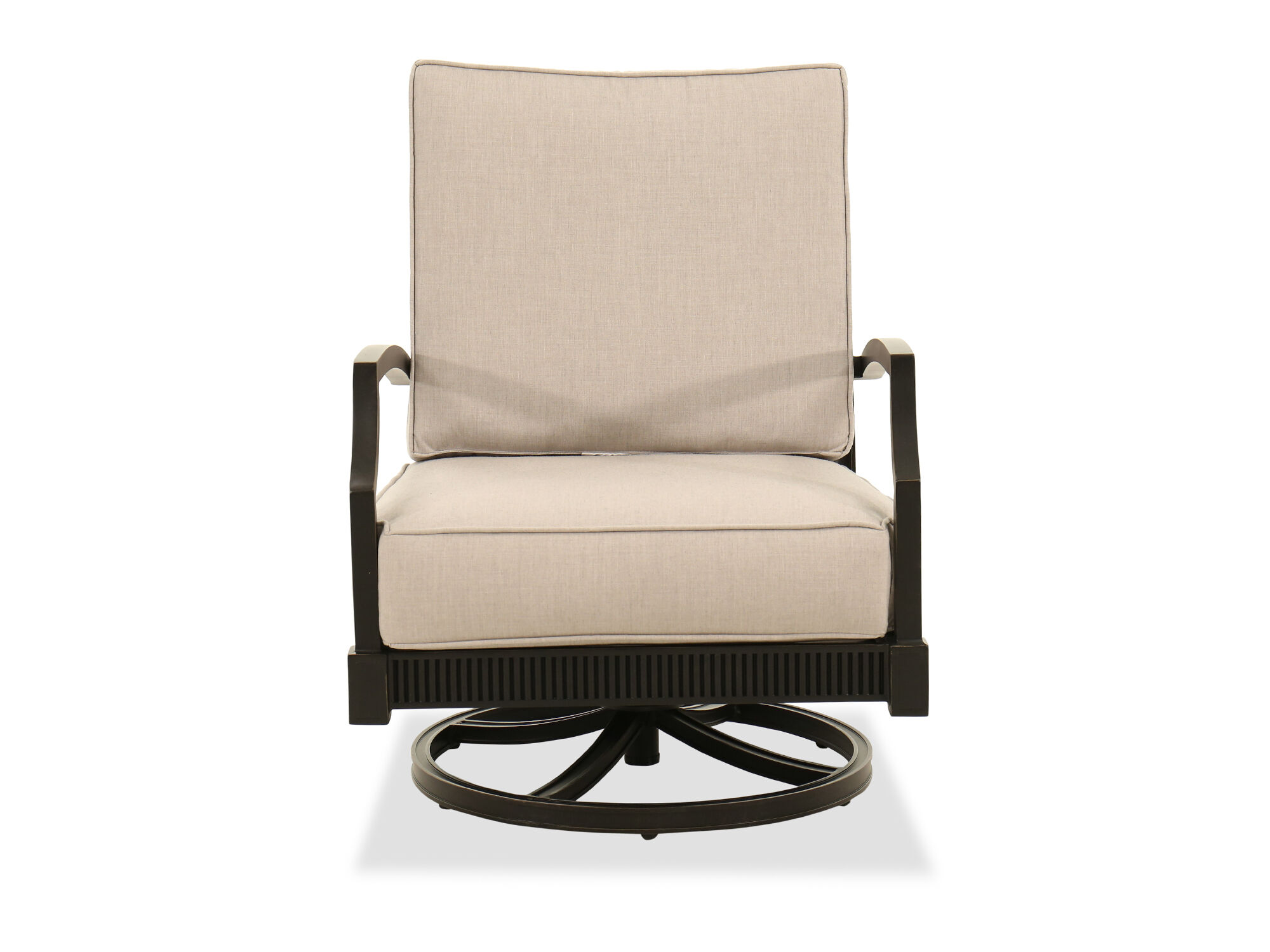 Attrayant Images Rocking Aluminum Club Chair In Gray Rocking Aluminum Club Chair In  Gray