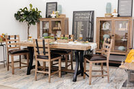 Samuel Lawrence FB Avenue Light Oak Gathering Table