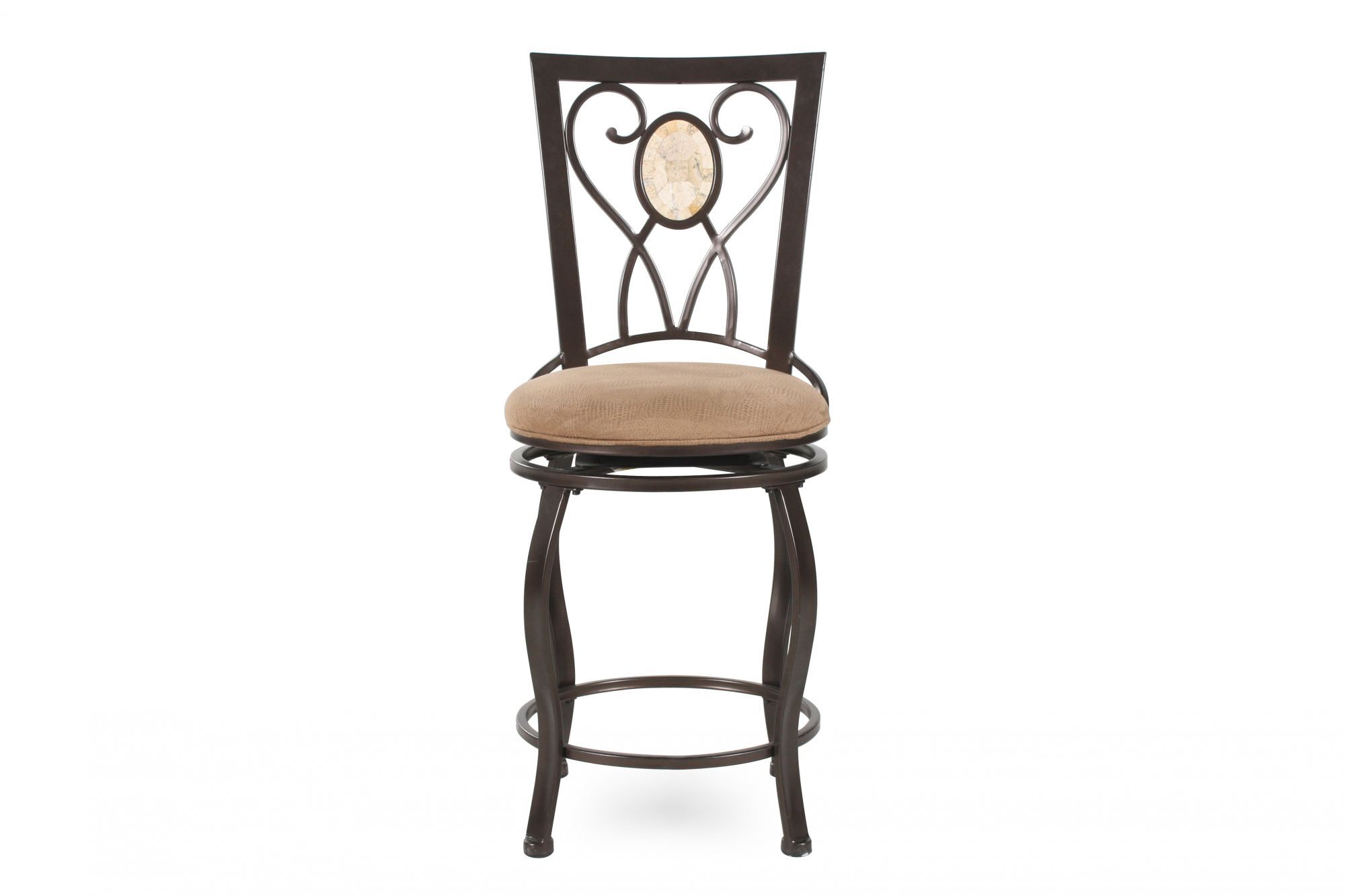 Images Traditional Bar Stool In Brown Traditional Bar Stool In Brown