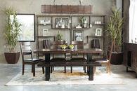Ashley Parlone Dark Brown Rectangular Dining Table