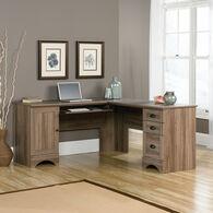 MB Home Hampshire Salt Oak Corner Computer Desk