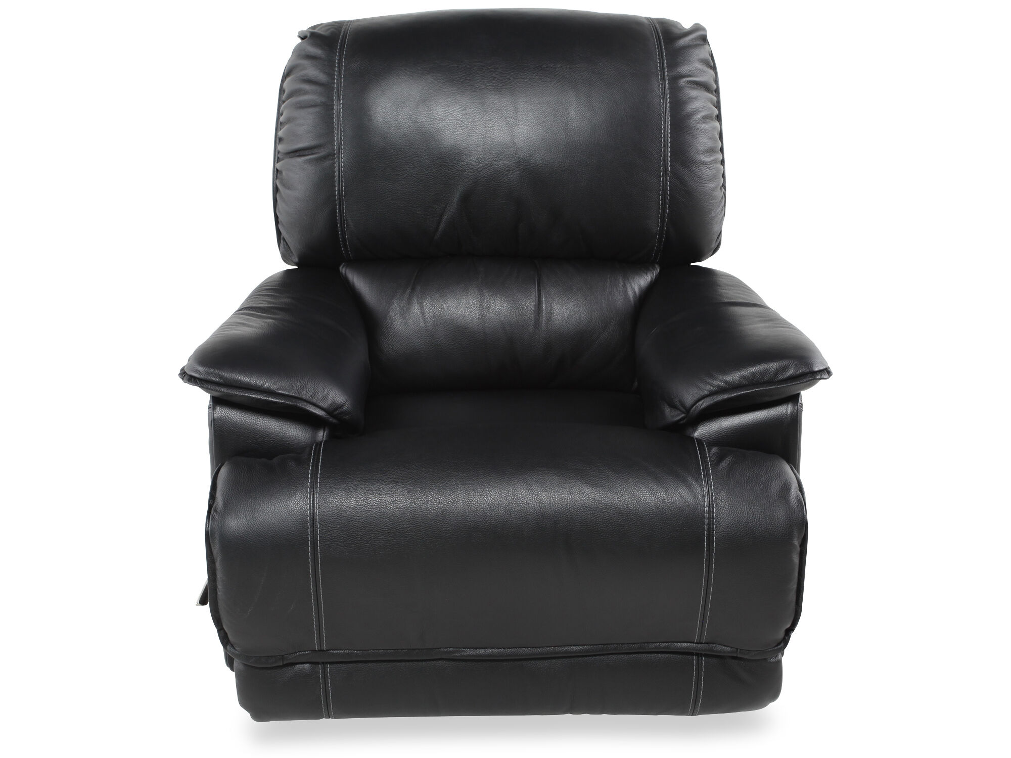 lazboy niagara black leather recliner - Lazy Boy Leather Recliners