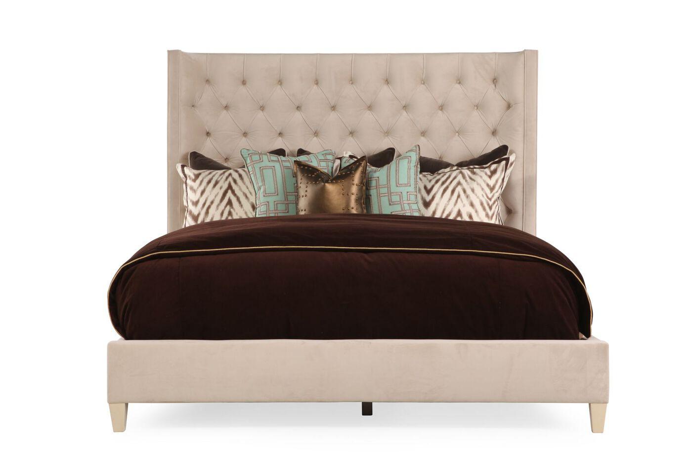 Bernhardt Salon Upholstered Bed | Mathis Brothers Furniture