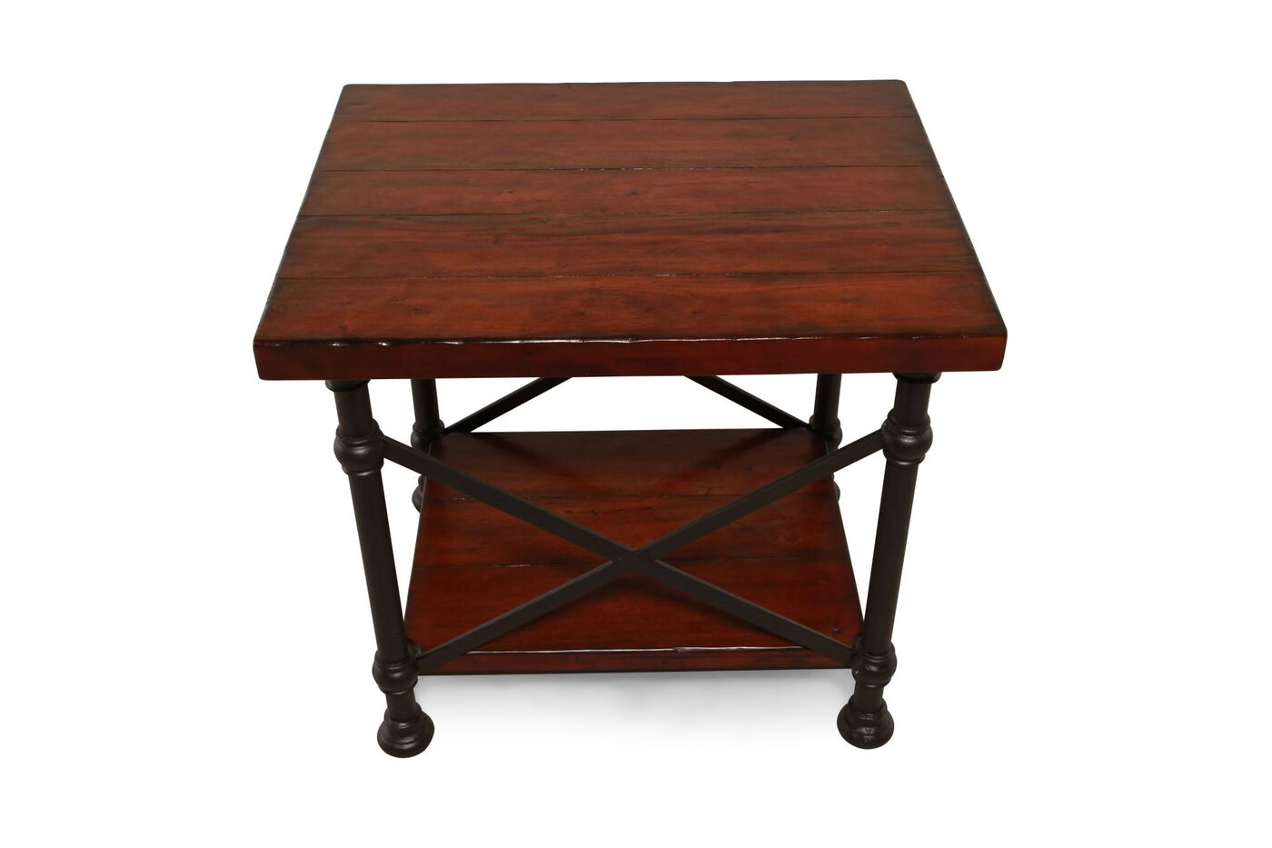 Bernhardt Vintage Patina End Table Mathis Brothers Furniture