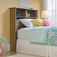 MB Home Canton Salt Oak Twin Bookcase Headboard