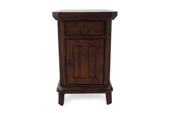 Square Traditional Chairside End Tablein Artisan Oak