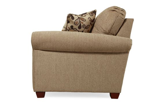 """I-Rest Casual 76"""" Sleeper Loveseat in Brown"""