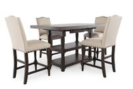 Winners Only Xcalibur Tall Five-Piece Dining Set