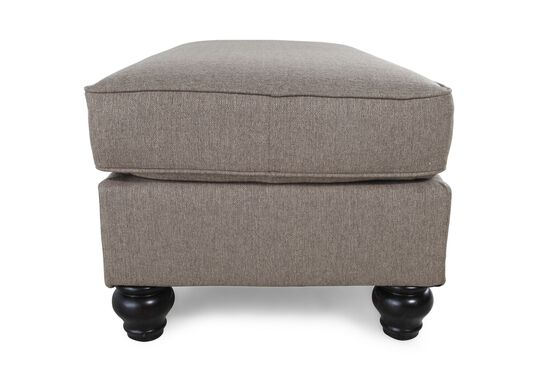 """Casual 40.5"""" Ottoman in Brown"""