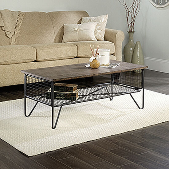Rectangular Contemporary Coffee Table in Walnut