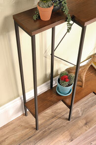 MB Home Dahlia Warm Cherry Console Table