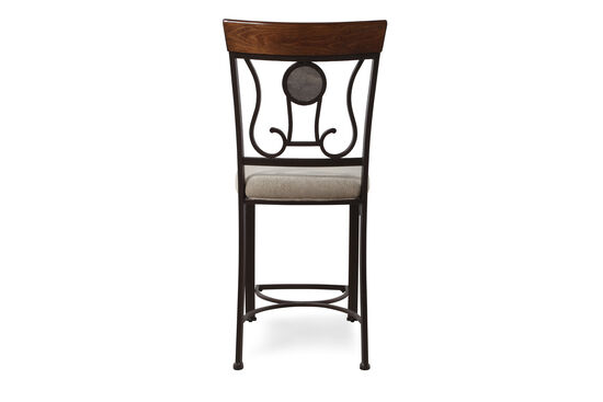 """Traditional 43"""" Bar Stool in Latte"""