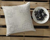 Ashley Parkman Natural 22 x 22 Pillow Cover