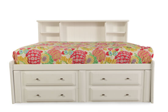 Trendwood Laguna White Full Bed