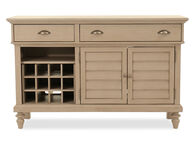 "58"" Two-Drawer Buffet in Putty"