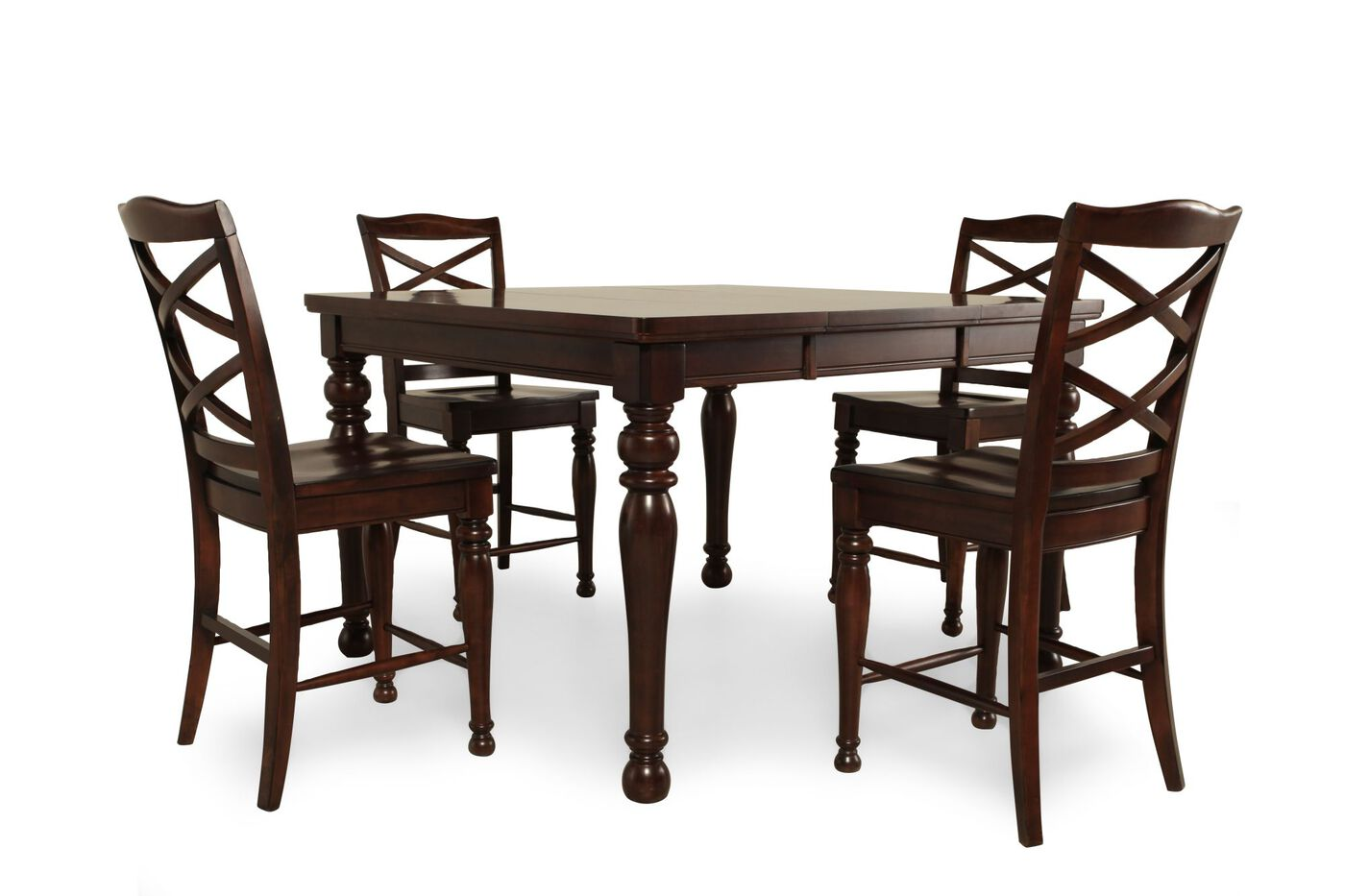 ashley furniture porter collection dining table. ashley porter five-piece pub set furniture collection dining table e