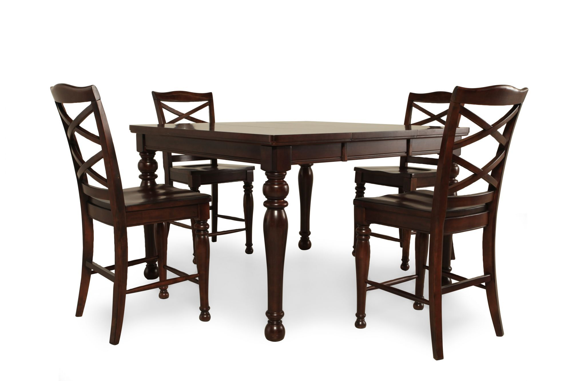 Images Five-Piece Traditional 36u0026quot; Pub Set in Rich Espresso Five-Piece Traditional 36u0026quot; Pub Set in Rich Espresso  sc 1 st  Mathis Brothers & Five-Piece Traditional 36