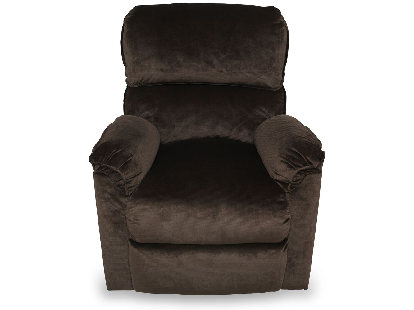 Casual 37quot lift chair recliner in brown mathis brothers for Recliner lift chair