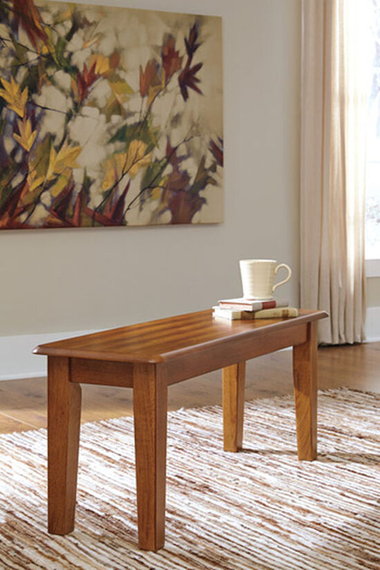 Ashley Berringer Rustic Brown Large Dining Room Bench
