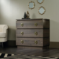 MB Home Haute Fossil Oak Accent Storage Chest