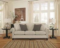 "Ashley 90"" Casual Sofa in Linen"