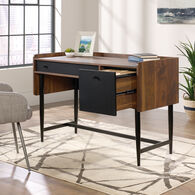 MB Home Fusionville Dark Wood Desk